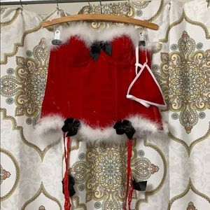 Other - Santa baby sexy lingerie costume corset and thong